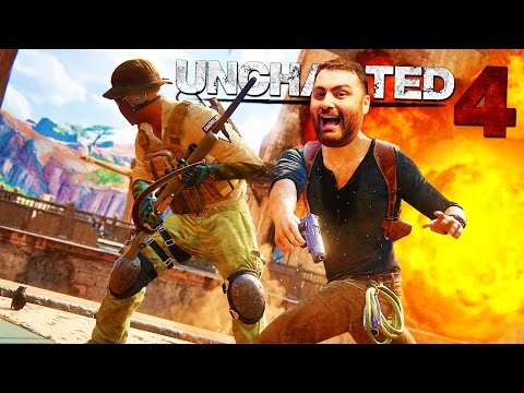 UNCHARTED 4: A Thief's End - I Like Volcanoes!! Part 5 - Let'sPlay WalkThrough (UNCHARTED 4)