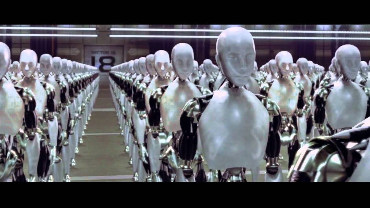 I Robot I Robot Official Trailer Hd
