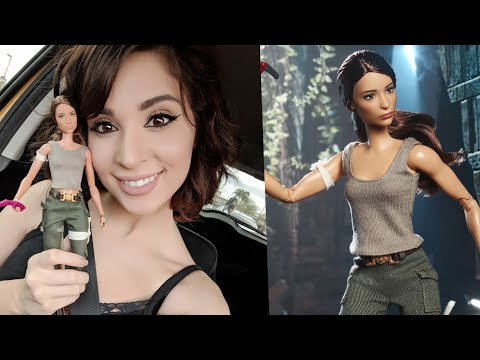 I got the new Lara Croft Tomb Raider Barbie!