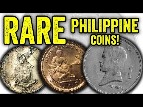 SUPER VALUABLE PHILIPPINE COINS WORTH BIG MONEY - WORLD COINS TO LOOK FOR IN YOUR COIN COLLECTION