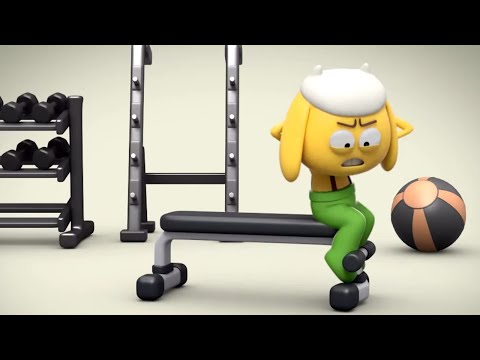 AstroLOLogy | Extraordinary Gym Workout | Chapter: Fit & Funtastic | Compilation | Cartoons For Kids