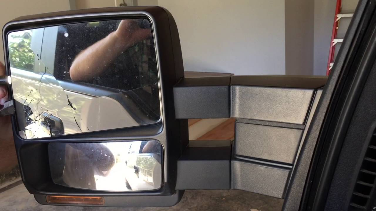 Replacing Driver Side Mirror On Ford F150 Crew Cab 4x4 Youtube
