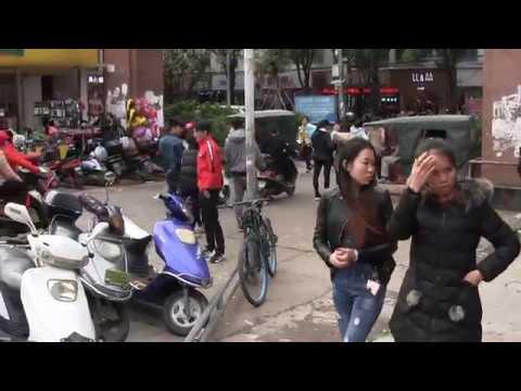 People Watching in Qinzhou, Guangxi, China