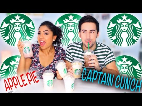 Trying Starbucks Secret Menu Frappuccinos You NEED To Try!
