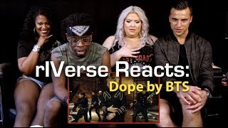 Gambar cover rIVerse Reacts: Dope by BTS - M/V Reaction