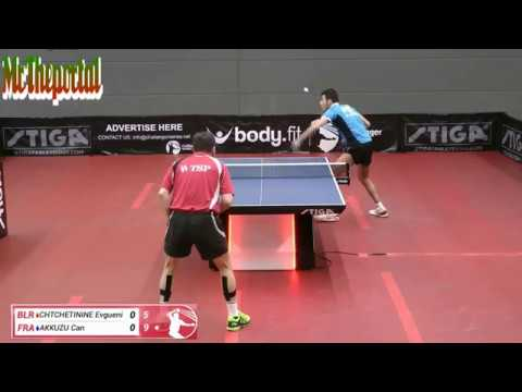 Table Tennis Challenger Series 2018 - Can Akkuzu Vs Chtchetinie Evgueni -
