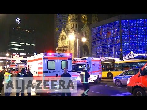 Berlin: 12 killed after truck slams into Christmas market