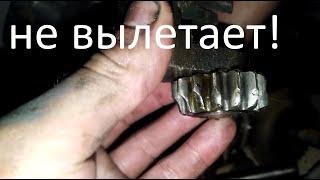 Ремонт задней передачи Мотоцикла Урал.