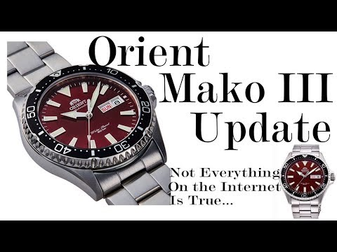 Orient Mako III Update : Not the Mako You're Looking For