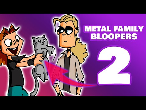 【METAL FAMILY】Bloopers Ep.05「 CANON 」|  English Sub.