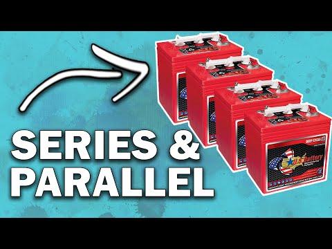 RV Battery Upgrade #2 | 4 6V Golf Cart Battery Install |  + TorkLIft Battery Box