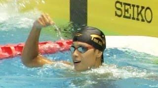 坂田怜央 CS100m自由形決勝 ジュニアオリンピック水泳2013-829 天井翼 検索動画 12