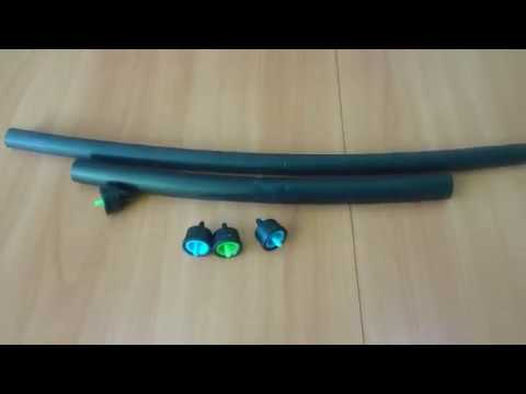 Слепая трубка 16 мм и 20 мм для капельного полива. Полив33.РФ