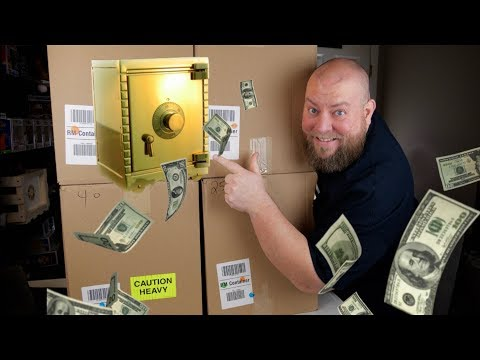 I bought a $1,851 Amazon Customer Returns Pallet / Mystery Boxes + Multiple SAFES Inside!!!