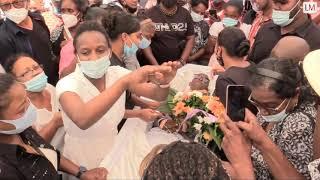 Funeral Of Singer Lin