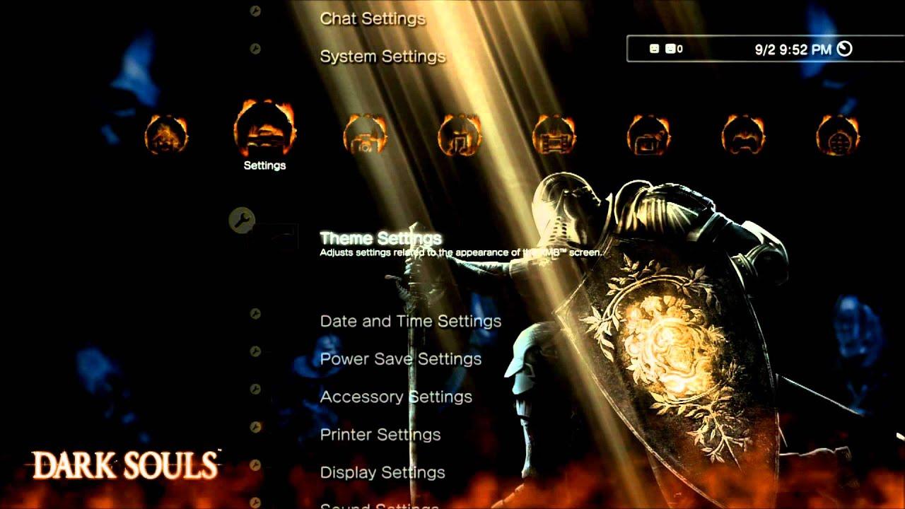 Dark Souls Dynamic PS3 Theme