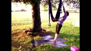 Yoga Swing Instruction How To Part 1 of 6 Warm up