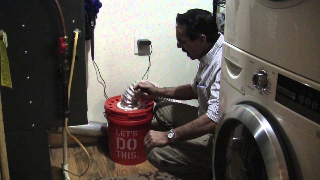 Diy Dryer Lint Bucket Free Heat Missouri Wind And Solar