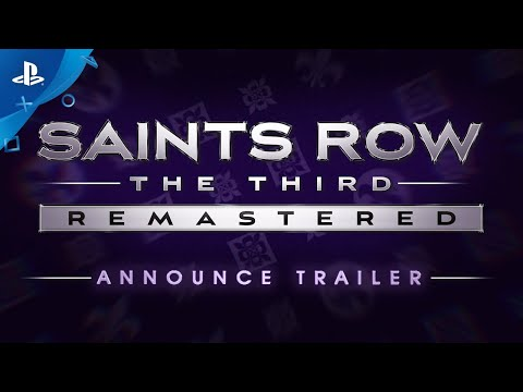 Saints Row The Third Remastered - Announce Trailer   PS4