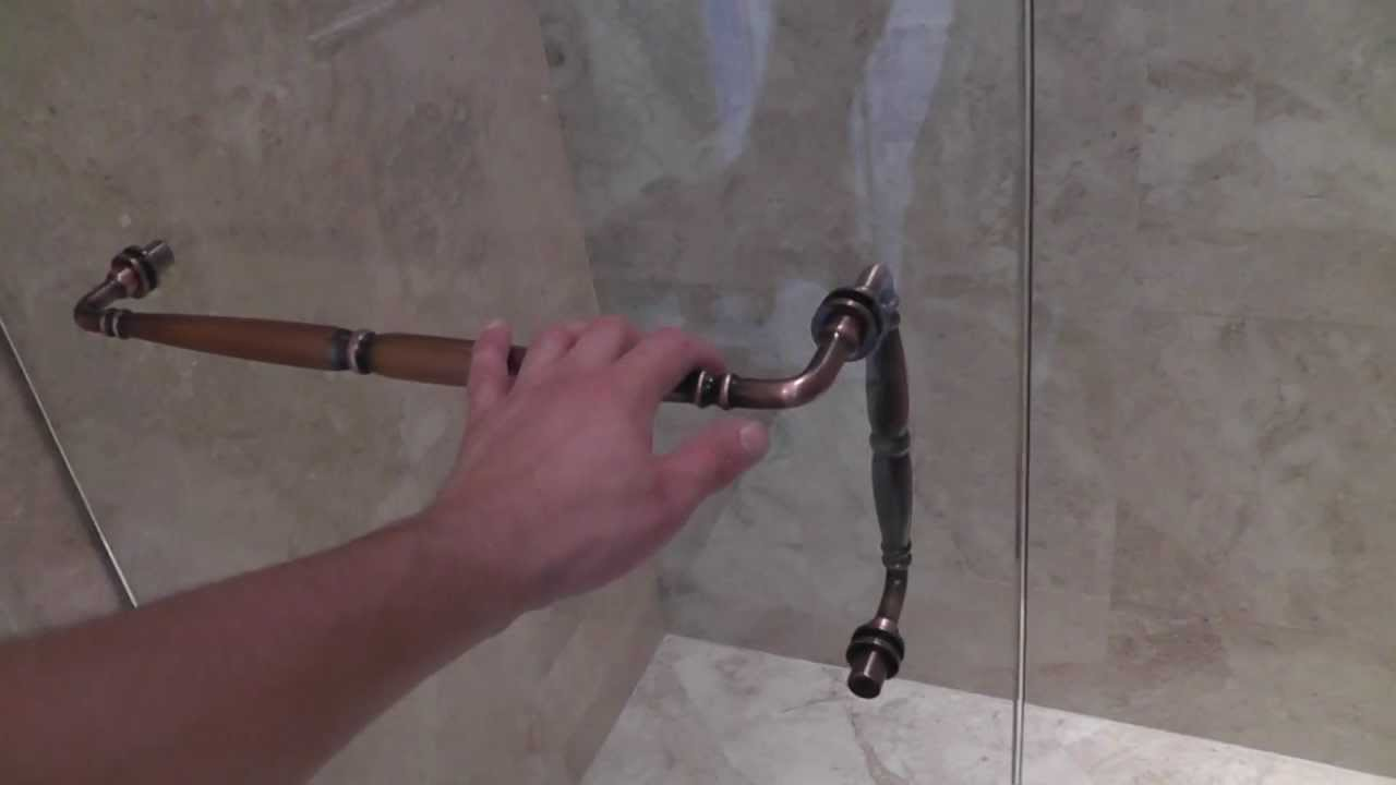 Frameless shower door Coral Springs, Fl - YouTube