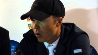 Itw of Kent Farrington (USA) winner or the FTI Consulting Riders Challenge 2013
