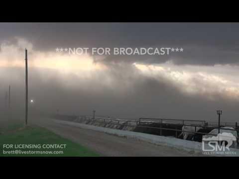 6-15-2017 Great Bend, Ks Gustnado, dust storm, severe thunderstorm