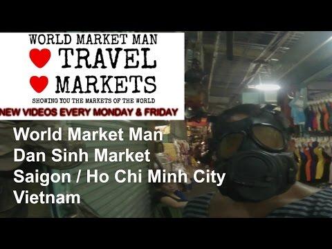 Dan Sinh Market, Saigon / Ho Chi Minh City, Vietnam