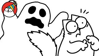 Spooked! (A Halloween Special) - Simon's Cat   SHORTS #85