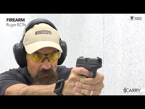 I Carry: Ruger EC9s in a Blackhawk TecGrip Holster - YouTube