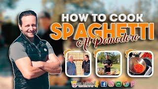 How to cook Spaghetti al Pomodoro | Dal Moro