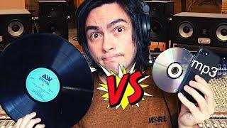 El Vinilo NO es mejor que el CD ni el mp3
