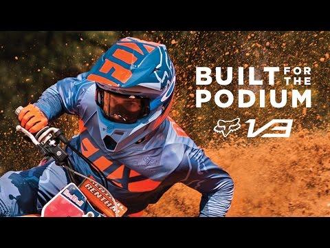 Fox V3 Helmet | BUILT FOR THE PODIUM