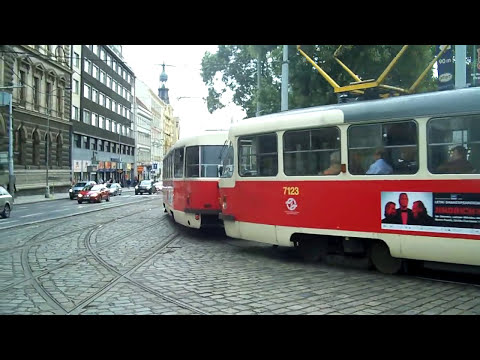 Prague's Tramway of 2011 (Czech Republic)