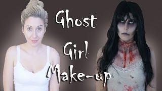 ghost girl Makeup Tutorial
