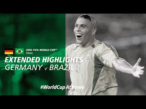 #WorldCupAtHome | Germany 0-2 Brazil [Extended Highlights] | 2002 FIFA World Cup™