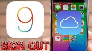 Delete iCloud Account Without Password in iOS 9 - 9.0.2 (iPhone 6S Also)