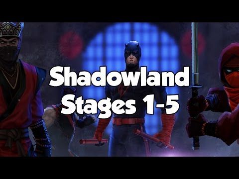 [Marvel Future Fight] Shadowland Stages 1-5