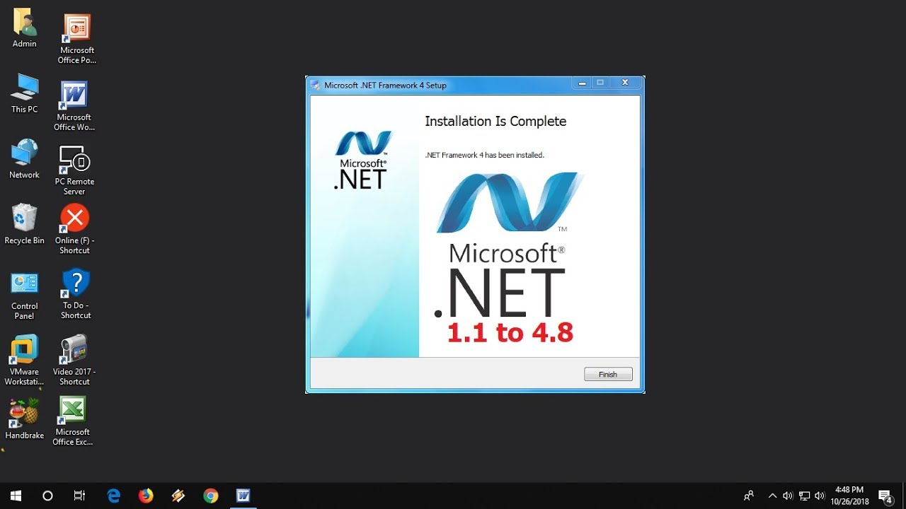 How to download and install. Net framework 1. 1 on windows 10 youtube.