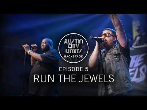 Run the Jewels in ACL: Backstage