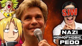 Famous Anime VA Vic Mignogna Under Heavy SJW Fire - Noble News