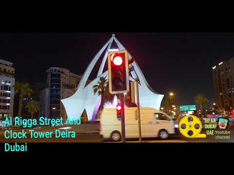 Al Rigga Street And Clock Tower Deira City Centre Dubai