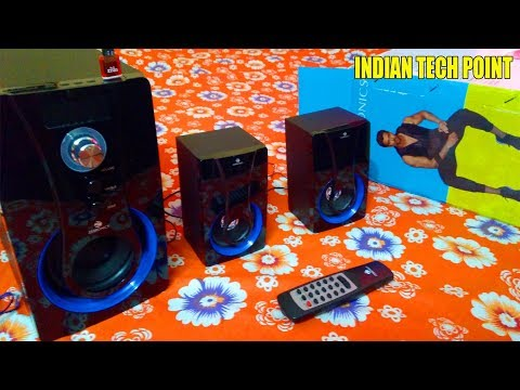 Zebronics SW2490 RUCF 2 1 Channel Multimedia Speakers