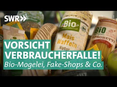 Vorsicht, Verbraucherfalle! Mogelei bei Bio-Produkten,  Knöllchen und Fake-Shops