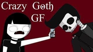 Jealous Goth GF || Satire Animation