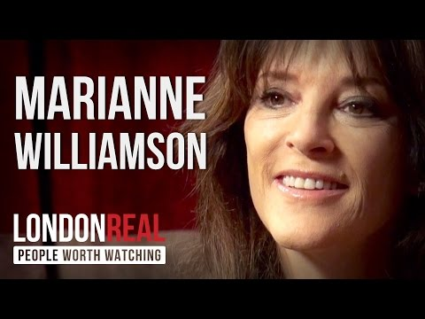Marianne Williamson – Our Deepest Fear – PART 1/2 | London Real