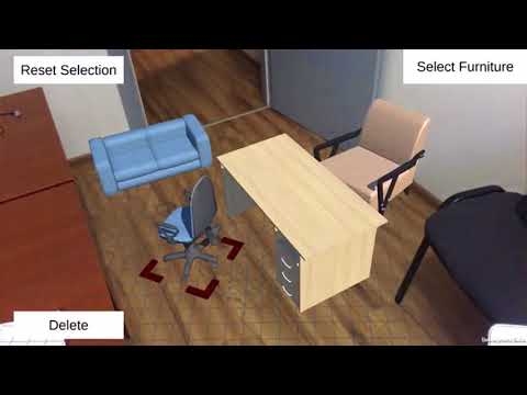 Furniture design ARKit PoC