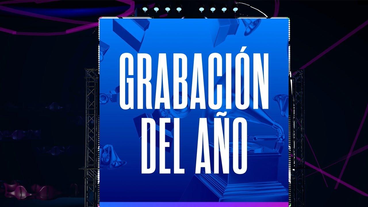 Grabación del Año | Nominados al Latin GRAMMY