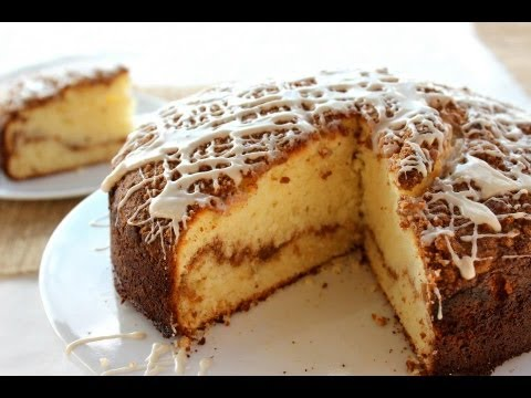 Breakfast Recipe: DELICIOUS Coffee Cake with Maple Syrup Glaze by Everyday Gourmet with Blakely