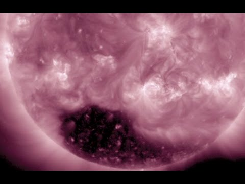 Powerful Coronal Hole, Spaceweather | S0 News December 3, 2014