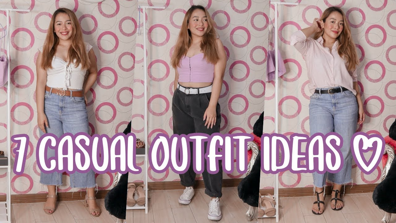 [VIDEO] - CASUAL OUTFIT IDEAS (TRENDY and CUTE!) | Philippines 1